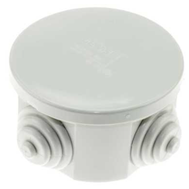 Gewiss GW44001 Ø65 x 35mm Round PVC Adaptable Box IP44