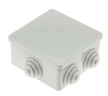 Gewiss GW44003 87.5mm x 87.5mm x 45.5mm PVC Adaptable Box IP44