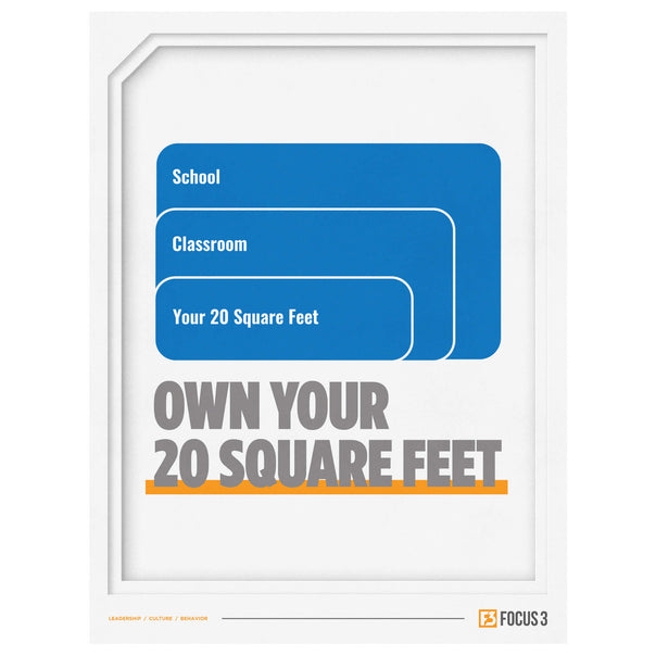 20 Square Feet Poster (Education)