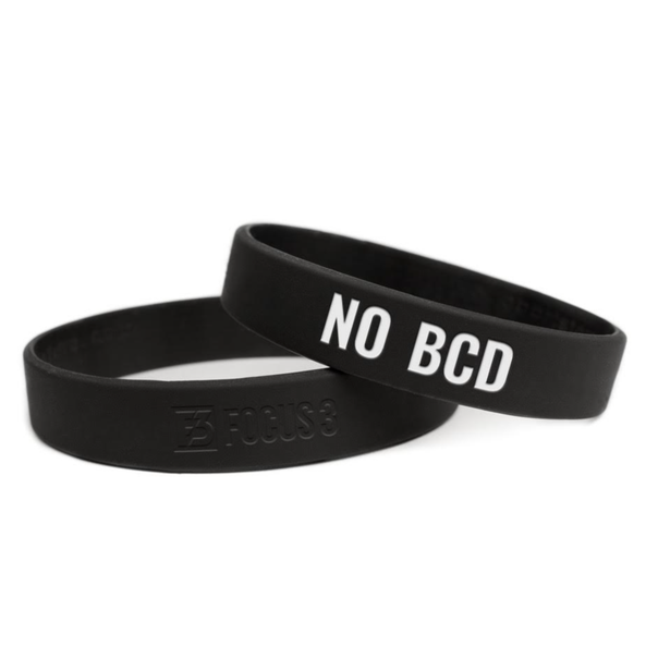 No BCD Wristbands (Adult)