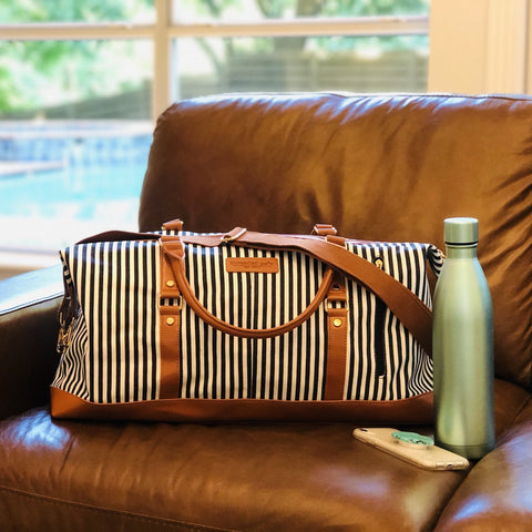 womens engraved gift duffle