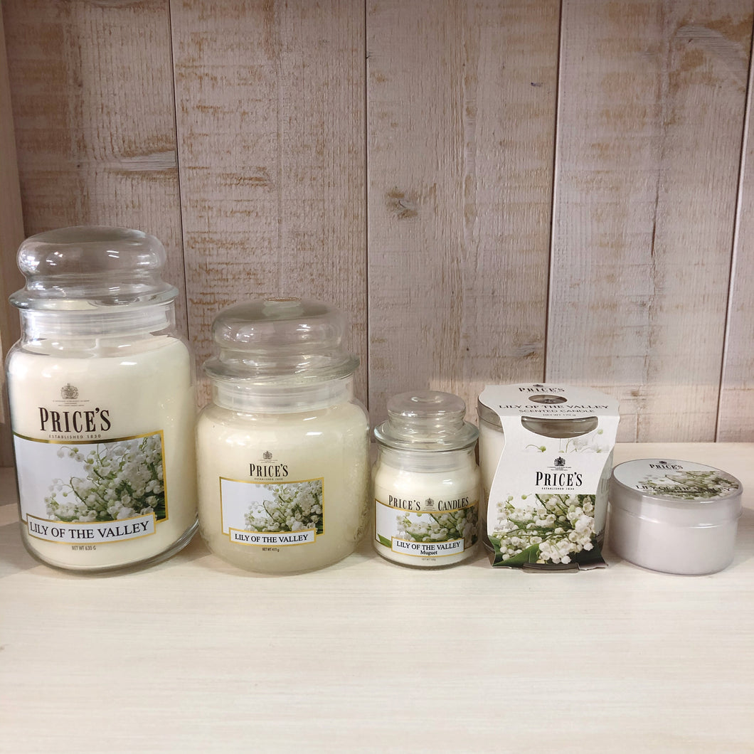 Candele profumate Lily of the Valley | Price's candles