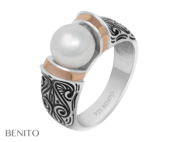 Marina Ring White Pearl