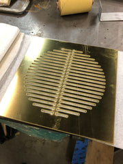 brass grille - vent cover