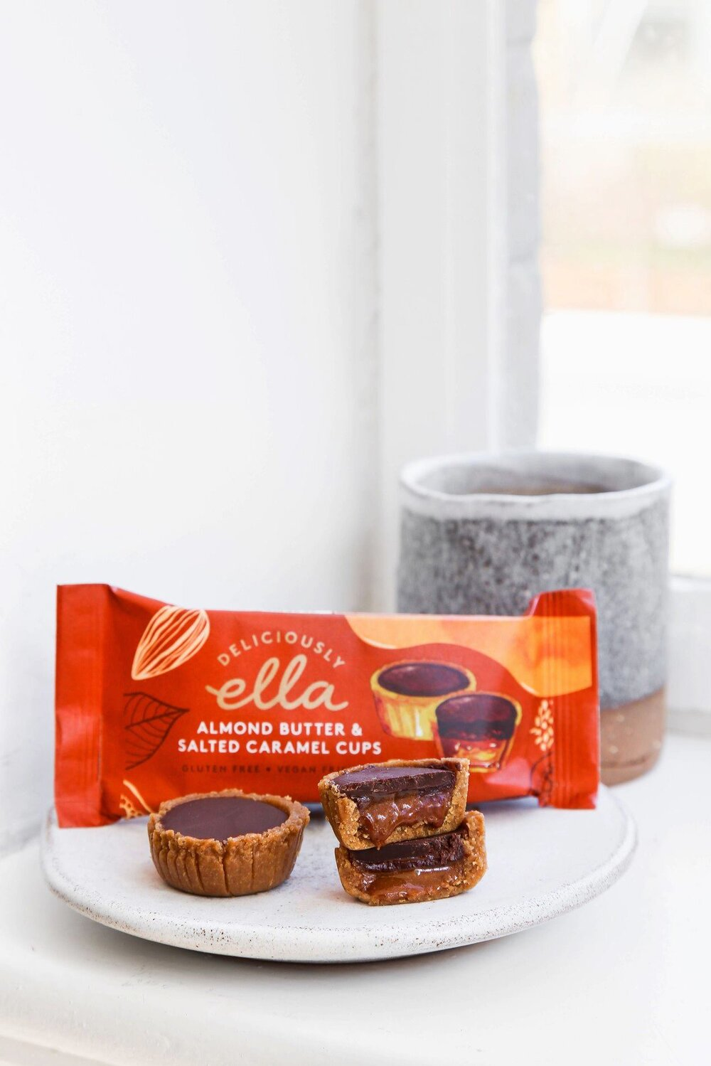 Deliciously Ella Salted Caramel Cups