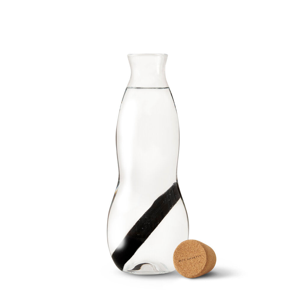 Design Glass Carafe w/ Charcoal Filter