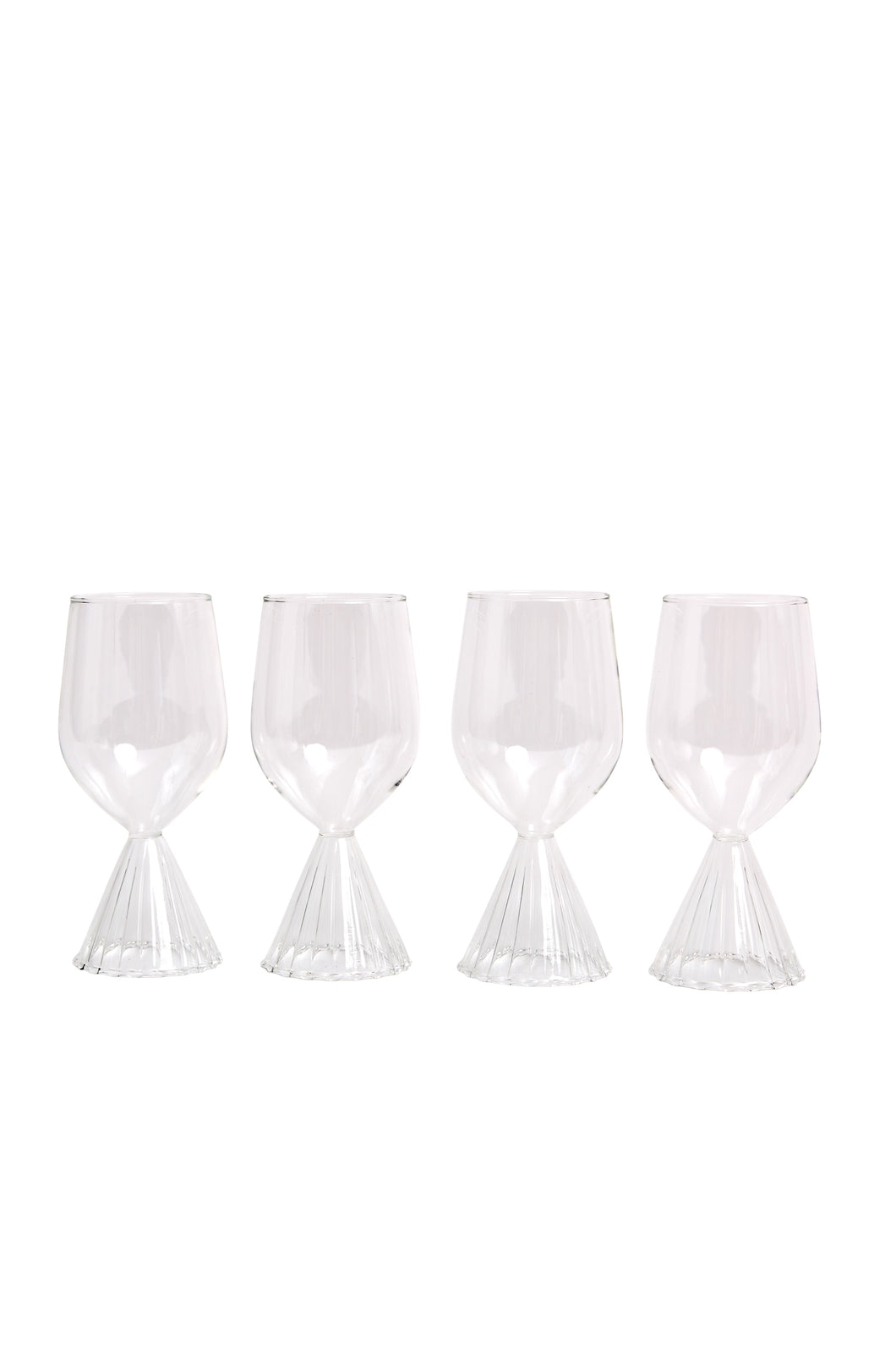 Tutu White Wine Glassware Set