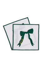 Load image into Gallery viewer, Bisette Bow Cocktail Napkins, Set of Four