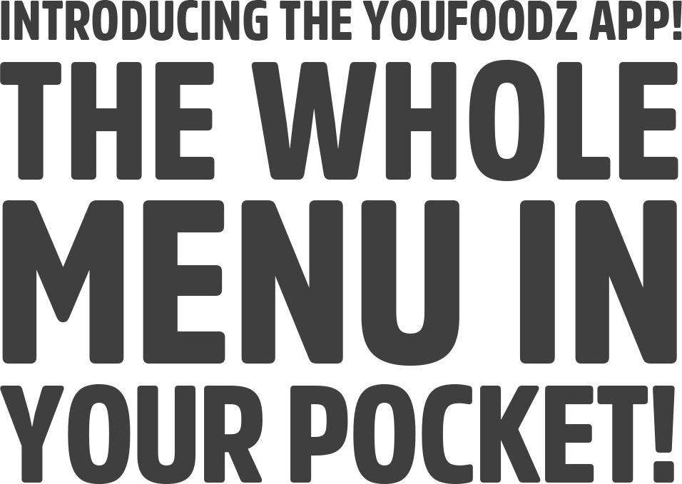 Introducing the Youfoodz app