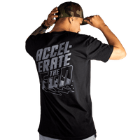 Black/Grey Accelerate Short Sleeve T-Shirt