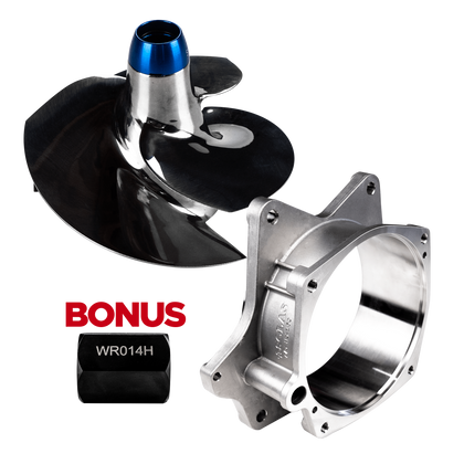 Solas 13/18 Concord Reflashed Yamaha 14+ FX SVHO, FZR, FZS & 17+ GP1800 Impeller, Liner & Tool Combo