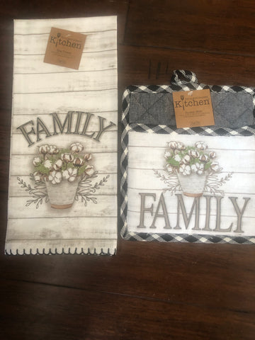 Family Themed Kitchen Set