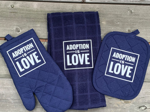 Adoption Is Love Kitchen Set