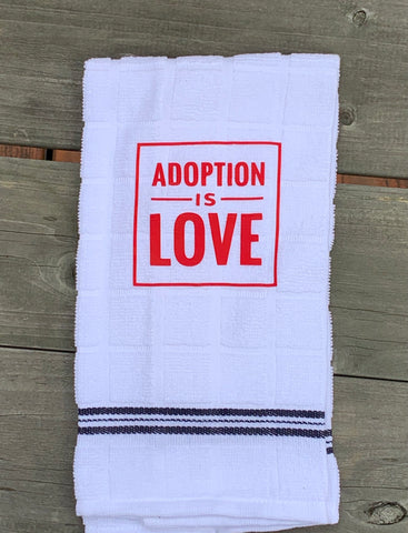 Adoption Is Love Hand Towel