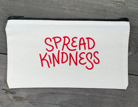 Spread Kindness Cosmetic Bag