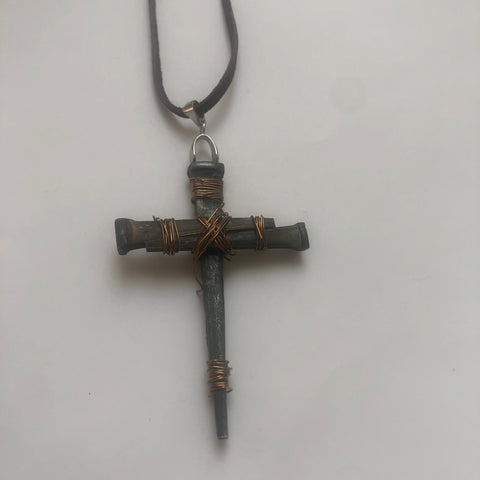Handcrafted Cross Necklace
