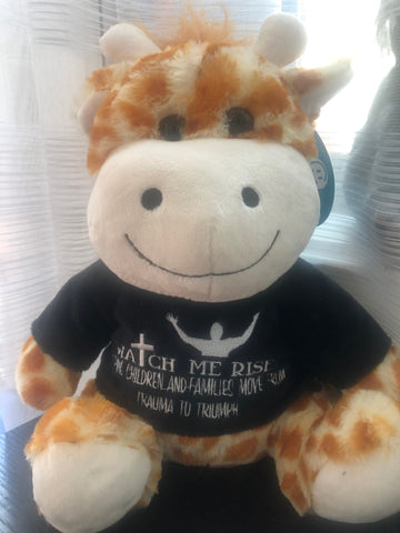 Adorable Watch Me Rise Plush Giraffe