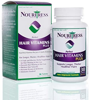 NouriTress Perfect Hair Vitamins Plus 30 tabs