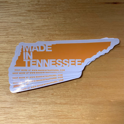 Made in Tennessee Sticker