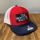 The North Knox Hat - Red White and Blue