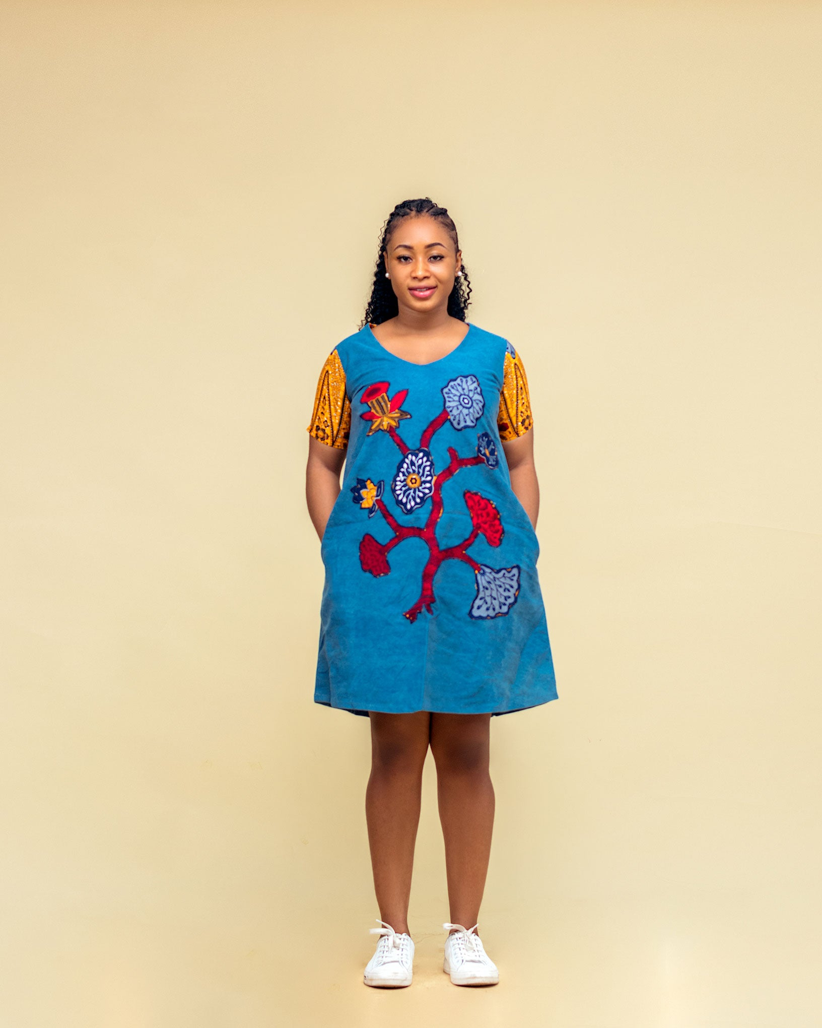 IROKO DENIM GOWN