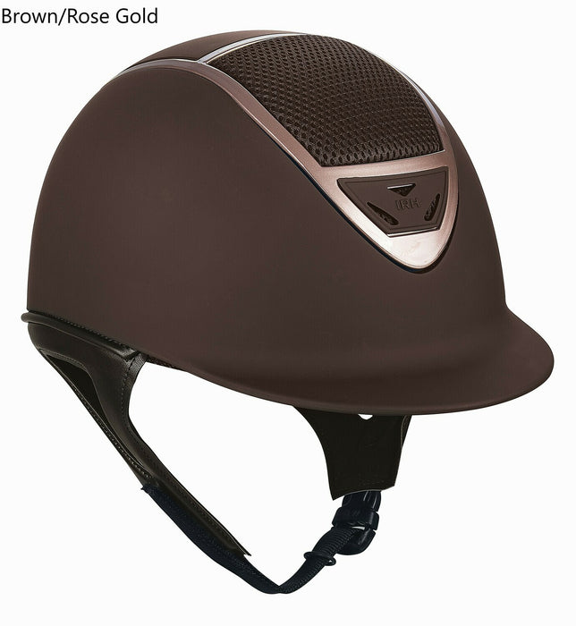 IRH XLT Helmet - Matte Brown/Rose Gold size Large