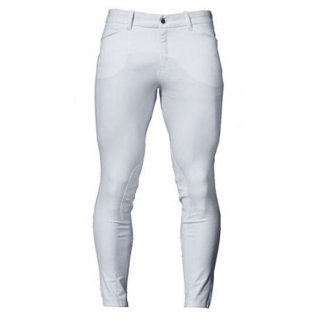AA Men's Silicon Knee Patch  Breech - White