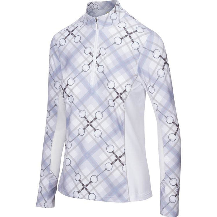 Arista Printed Long Sleeve Quarter Zip