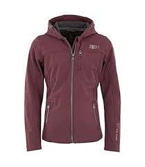 BR-4EH Abby Child's Softshell Jacket - Cabernet size 12