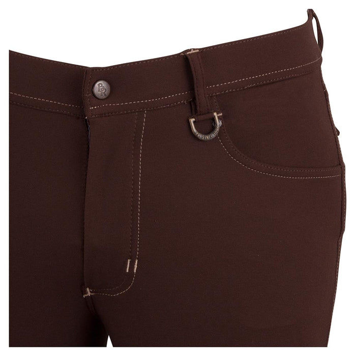 BR Men's Mike Knee Patch Breech in Brown