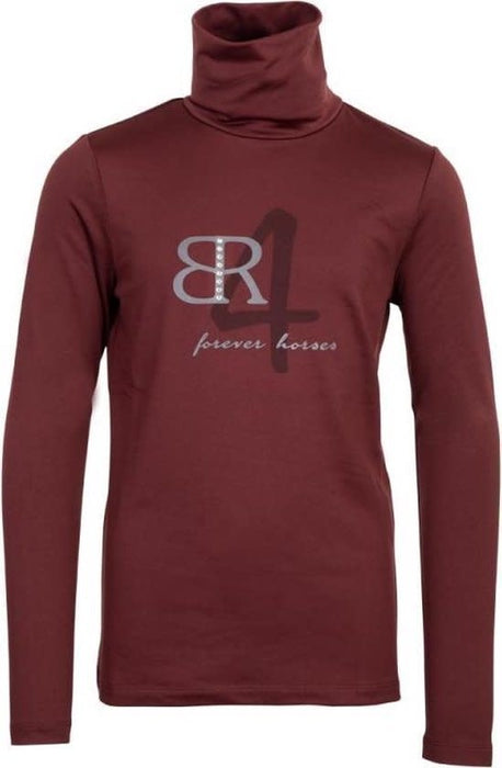 BR Naveah Child's Pullover Dark Port 12