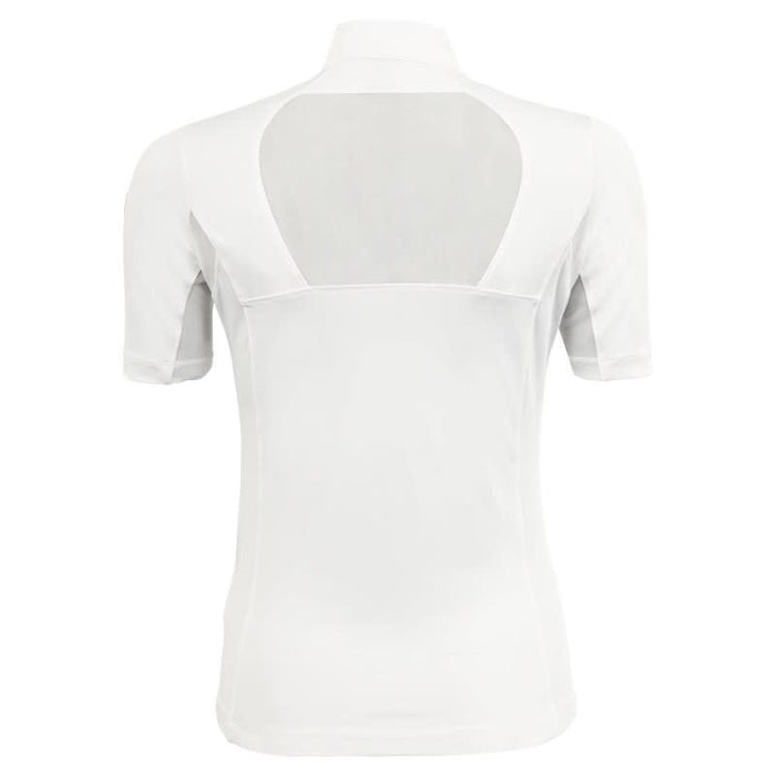 BR Rochelle Ladies' Short Sleeved Competition Shirt in Snow White