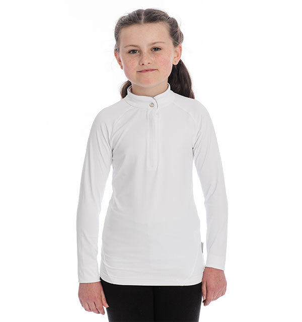 Horseware Kid's Sara Long Sleeve Competition Shirt