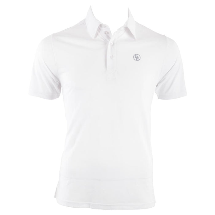 BR Men's Competition Polo Shirt - White (Size XXS and XS only)