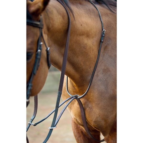 Nunn Finer Running Martingale -  Zinc Hardware