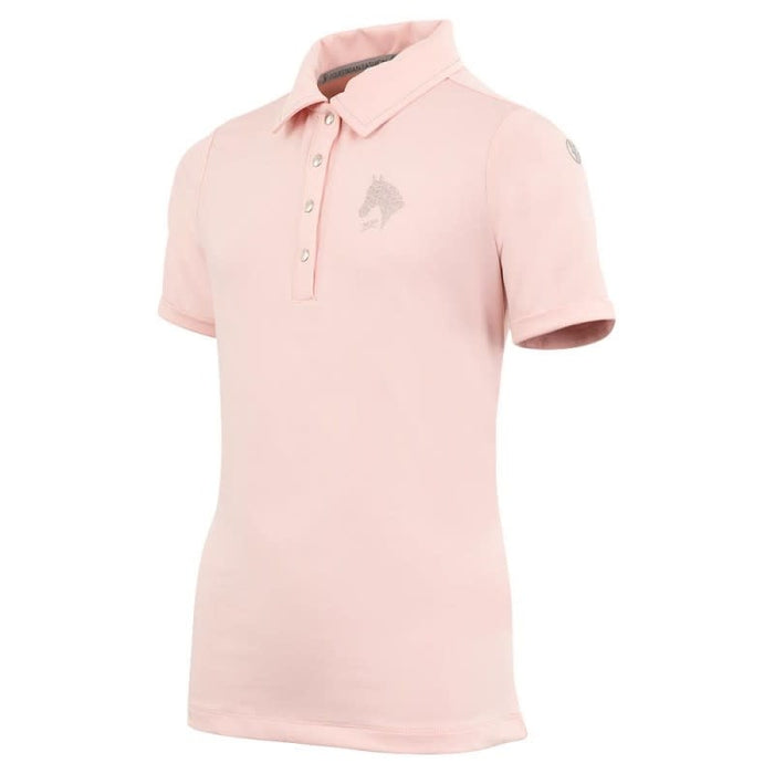 BR 4-EH Raya Child's Polo Shirt - Powdered Pink size EUR 152