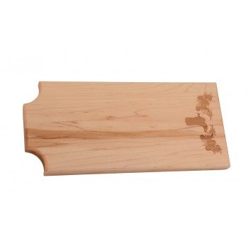Equestrian Wooden Cheese Board
