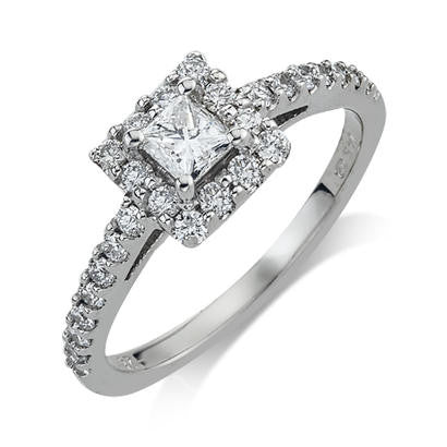 Camelot Princess Engagement Ring