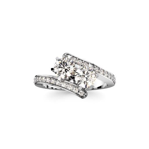.75ct Be2gether Ring