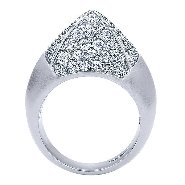 925 Silver White Sapphire Ring
