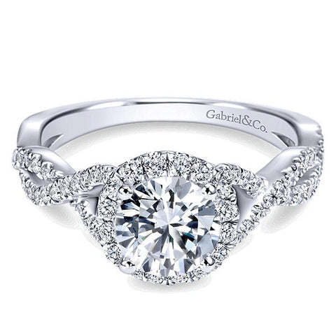Halo Engagement rings Texas Gold Connection