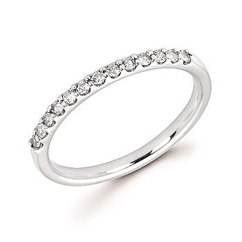 Diamond Stackable Band In 14K Gold (April)