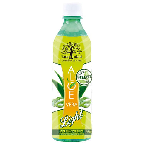 Aloe vera Tesoro Natural light con Stevia - 50cl.