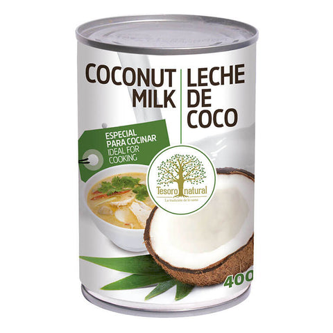 Leche de coco Tesoro Natural - 400 ml