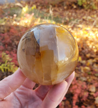 Load image into Gallery viewer, Golden Quartz Polished Sphere from Madagascar