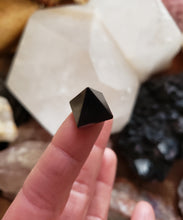 Load image into Gallery viewer, Tiny Pyramid of Shungite from Russia