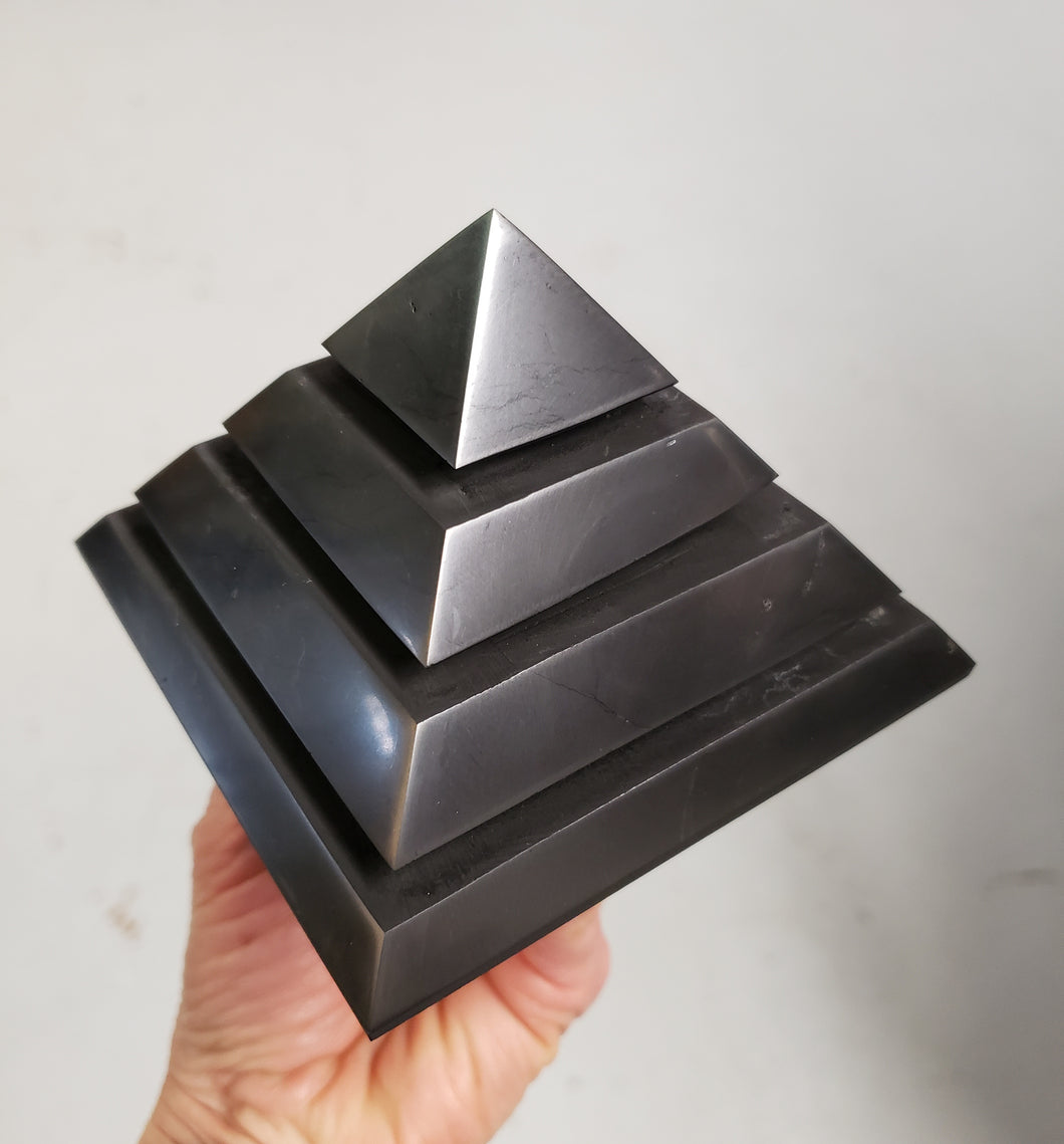 Shungite XL Energy Pyramid from Russia