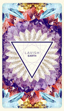 Load image into Gallery viewer, Lavish Earth Crystal Affirmation Cards