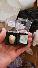 Load and play video in Gallery viewer, Perky Box Set - Illinois Fluorite and Rutilated Quartz