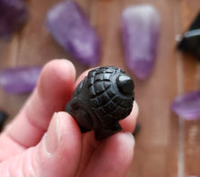 Load image into Gallery viewer, Shungite Buddha Head from Russia